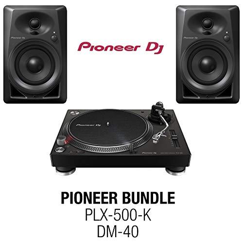 PIONEER Pack PLX 500 Negro + DM40BK