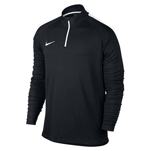 Nike M Dry Drill acdmy–Top maniche lunghe per uomo negro  (negro / blanco / blanco)