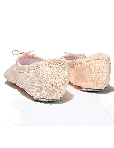 X2X Tela Scarpette da Ballerina Classica Split Scarpe da Danza Indoor  Ginnastica Ritmica Pilates Yoga per Bambini e Adulti di Diverse Dimensioni  (EU25 0b032dca4d5