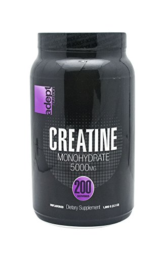 ADEPT NUTRITION Creatine Supplement, 1000 Gram