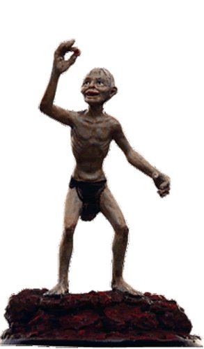 Lord of the Rings Señor de los Anillos Figurine Collection Nº 103 Gollum 1