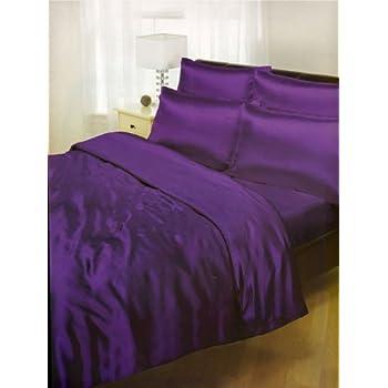 6 tlg satin bettw sche creme doppelbett 200x200 spannbetttuch 4x kissenbez ge bettbezug. Black Bedroom Furniture Sets. Home Design Ideas