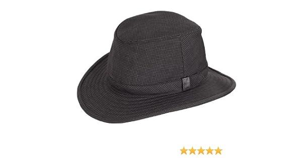 253324f4 Tilley TTC2 Tec-Cork Winter Hat - Black/Grey, Size 8: Amazon.co.uk: Clothing