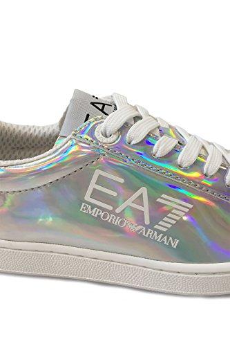 Emporio Armani EA7 Damenschuhe Damen Schuhe Sneakers Turnschuhe classic fashion Iridescent (09317)