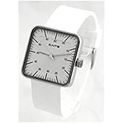Dream Homme - Montre Homme Silicone Blanc CAITE CITIZEN 1823