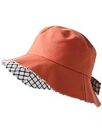ae5af3d7e2e Xinqiao Women s Sun Hat Summer Bucket Hats Wide Brim Bowknot Foldable Cap