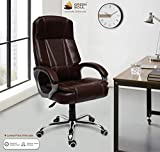 Green Soul Vienna High Back Revolving Office Chair (Brown)