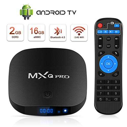 Android TV Box, TV Box Android Ultima Versione [2GB RAM+16GB ROM], Superpow Smart TV Box 4K UHD /H.265 / HDMI/ 3D / USB * 2 Set-Top Box Android