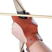 cnse caza mano pantalla guardia Archer táctico arco guante protector de disparo Guante de mano izquierda