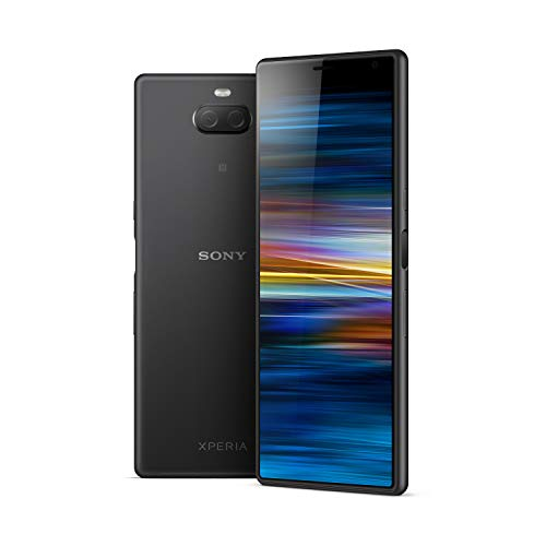 Sony Xperia 10 Plus - Smartphone con display 21:9, 6.5'' full HD+ Dual Camera 12MP e 8MP, processore HD Qualcomm® Snapdragon™ 636, Batteria da 3000mAh Nero