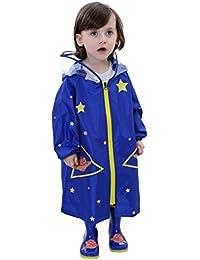bb0d1ca1a9 Kinder Regenanzug Wasserdicht Regen-Overall Regenmantel Jungen Mädchen  Regenkleidung Regenjacke Softshelljacke Regenponcho Outdoorjacke für Schule