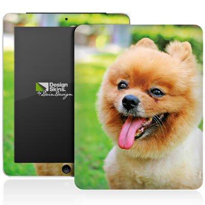 Apple iPad 1 Aufkleber Schutz Folie Design Sticker Skin Hund Spitz Welpe