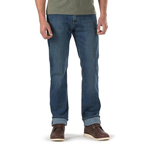Vans Herren Straight Leg Jeanshose Blau Blau Gr. 30W/30L, Blau - Dark Stone