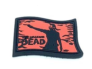 Walking Dead Rick Grimes Fan Patch Airsoft PVC Patch