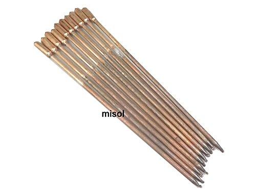 MISOL 10 pcs/lot of copper heat pipe (40cm), for solar water heater / solar hot water heating / for solar collector/Solarkollektor f¨¹r thermische Solaranlagen