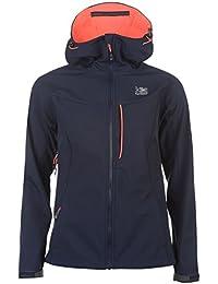 Karrimor Womens Alpiniste Softshell Jacket Coat Top Chin Guard Hooded Zip