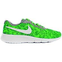 Nike Tanjun Print (GS), Zapatillas de Deporte para Niñas