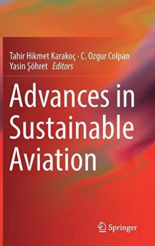 Advances in Sustainable Aviation Advance Vest