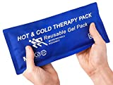 "MEDca Universal Hot & Cold Reusable Microwavable Gel Pack, 5"" x 10"", Soft & Comfortable Heating or Cooling Therapy for Sprains, Extra Durable Nylon Quality Category (Item-Type): hot-Water-Bottles"