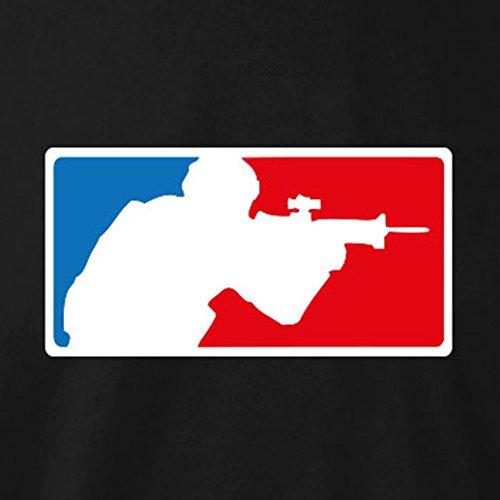 TEXLAB - E-Sports: Shooter - Langarm T-Shirt Dunkelblau