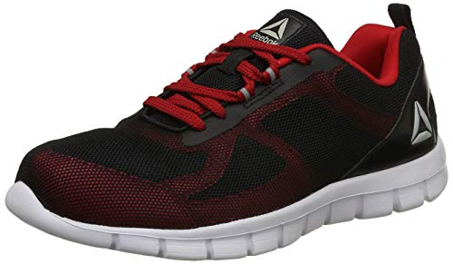 Reebok Men's Super Lite 2.0 Black/Red Rush Running Shoes-8 UK/India (42 EU)(9 US)(CN8000)