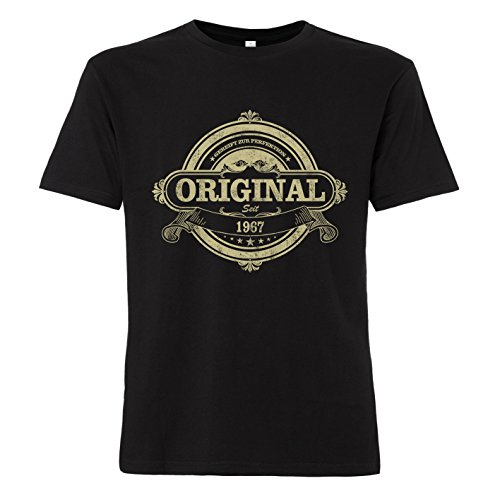 ShirtWorld - Original seit 1967 zum 50. Geburtstag - T-Shirt XL
