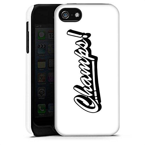 Apple iPhone X Silikon Hülle Case Schutzhülle Proownez Fanartikel Merchandise Champs Tough Case matt