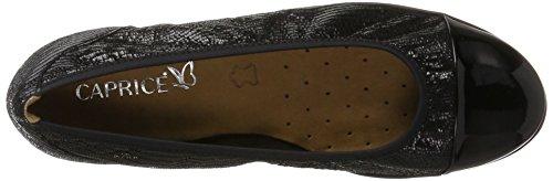Caprice 22102, Ballerine Donna Nero (Black Rept.com)