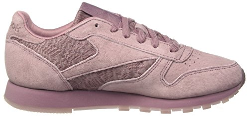 Reebok Damen Classic Leather Lace Sneakers Pink (Smoky Orchid / White)