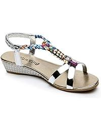 Zapatos Amazon es Transparentes Bolas Mujer Para xtq04wPTq