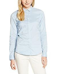 Tommy Hilfiger Damen Slim Fit Bluse AMY STR SHIRT LS W1