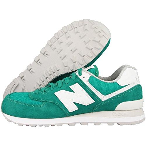 New Balance 574, Sneaker Uomo verde/bianco