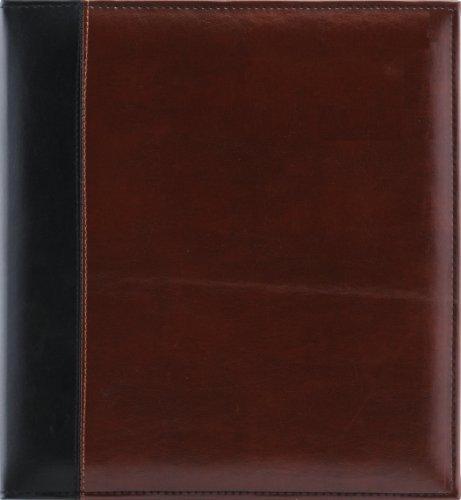 Pinnacle magnetisch Paged Faux Leder Ring Bound Fotoalbum, 5x 7von Pinnacle Rahmen und Akzente - Faux Leder-rahmen
