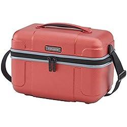"Travelite Beautycase ""Vector"" in coral Vanity, 36 cm, 20 liters, Rouge (Coral)"