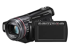 Panasonic HDC-SD300 EG-K Full HD-Camcorder (SD/SDHC-Card, 12-fach opt. Zoom, 6,9 cm (2,7 Zoll) Display) schwarz