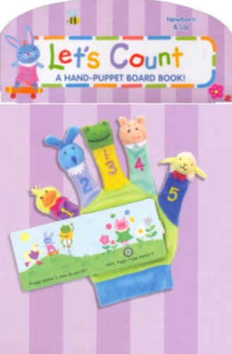 Hand-Puppet Board Books: Let's Count!: A Hand-puppet Board Book