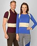 ®BeFit24 Premiumklassiger Geradehalter zur Haltungskorrektur für Damen und Herren - Rückenstütze, Haltungstrainer, Rückenstabilisator, Haltungskorrektur Rücken