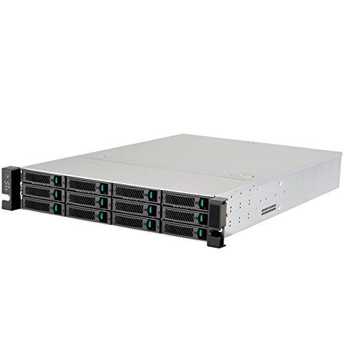 SilverStone SST-RM212 - Rackmount Server Gehäuse 2U mit 12x 3.5