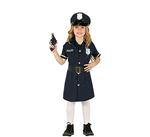 Guirca-88456 Disfraz 10-12 Años Policia Niña, Multicolor (88456)