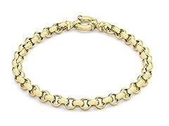 Idea Regalo - Carissima Gold Bracciale da Donna, in Oro Giallo 9K (375)