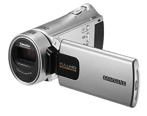 Samsung HMX-H300 Full HD Camcorder (30-fach opt. Zoom, 7,6 cm (3 Zoll) Display, Touchscreen, bildstabilisiert) silber