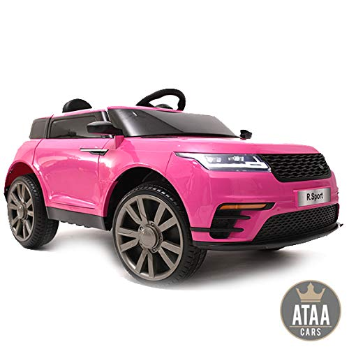 ATAA R-Sport 12v - Pink - Electric car for boys and girls with Parent Control and battery 12v