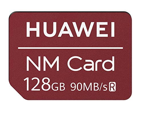 huawei 06010396 nano memory card, 128 gb, compatibile solo con mate 20 e mate 20 pro