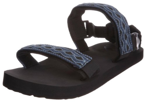 Reef Convertible, Tongs homme Bleu (Black/Denim)