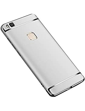Funda Huawei P9 Lite Protectora 3-en-1 PC Enchapado Ultra Delgado Choque Absorción Anti-Arañazos Case Carcasa...