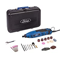 Ford 2724456208909 135 Watts Mini Grinder with Accessories Kit, 40 Pieces