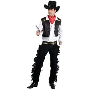 Déguisement costume Homme - Cowboy Western Noir - Taille L