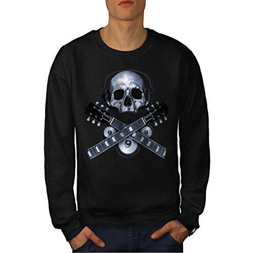 dj-skeleton-guitar-headphones-men-new-black-m-sweatshirt-wellcoda