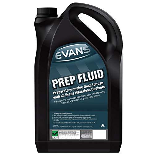 Evans Prep Fluid, liquido igroscopico preparatorio per tutti i tipi di motore, senza acqua, 5 litri (etichetta in lingua italiana non garantita)