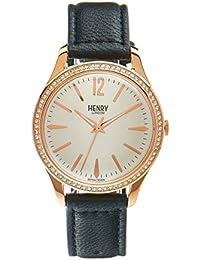 Henry ltext-Orologio da polso rich luna London orologio HL39 - SS-0032 (Ricondizionato Certificato)